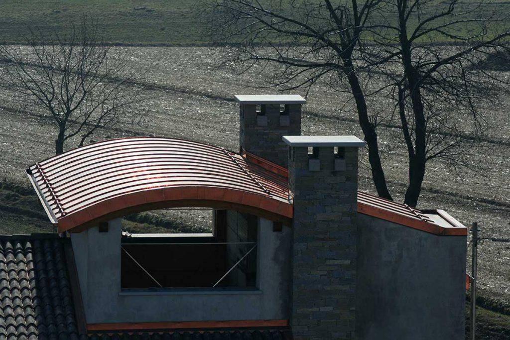 Couverture joint debout en cuivre - OML