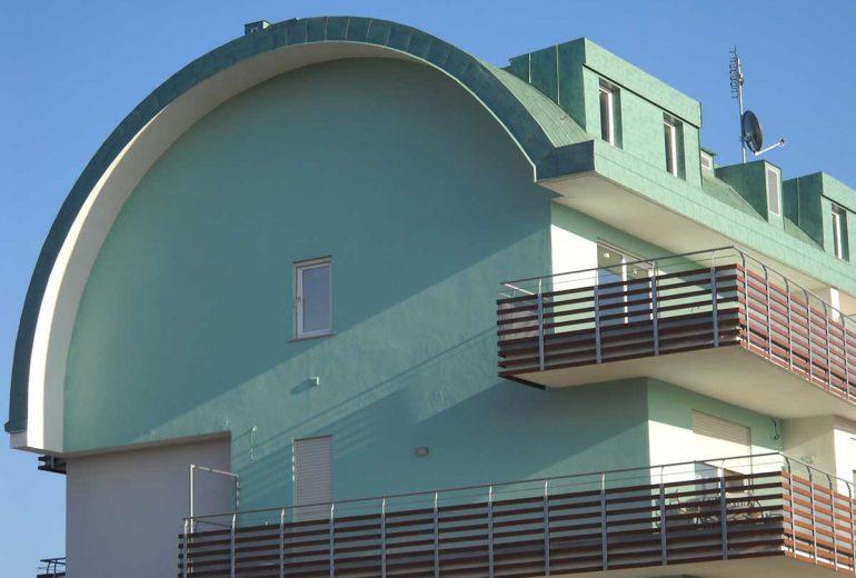 Couverture joint debout en aluminium Vestis verde Roof
