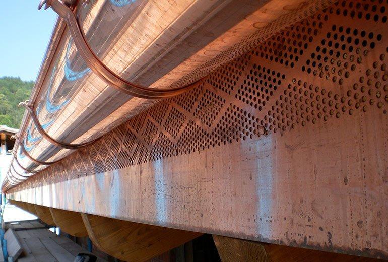 Sottogronda areazione tetto ventilato