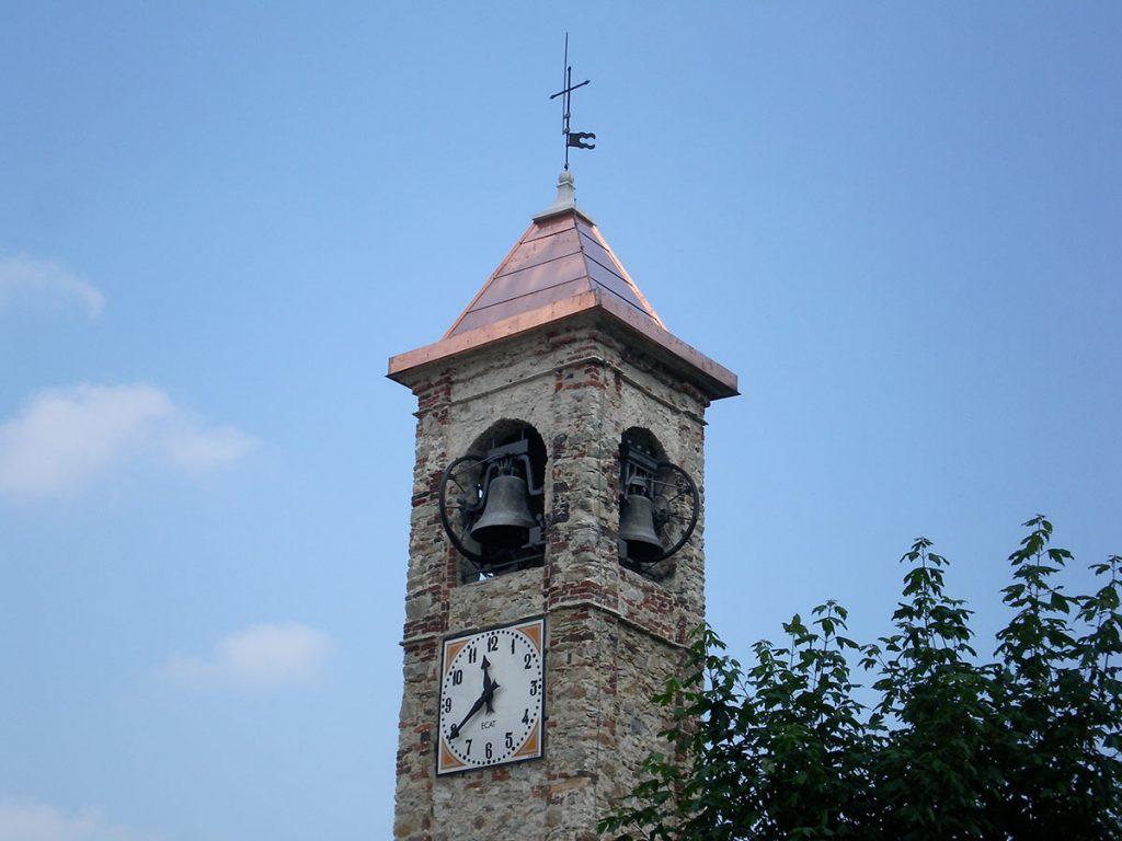 Couverture clocher – Eglise de Frabosa Soprana - OML