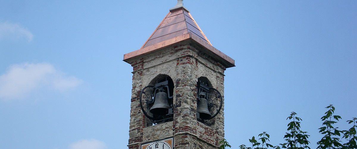 Copertura campanile – Chiesa di Frabosa Soprana
