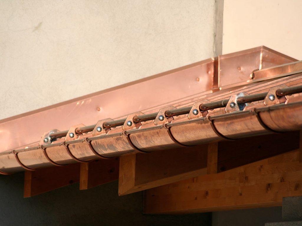 Couverture en cuivre - OML