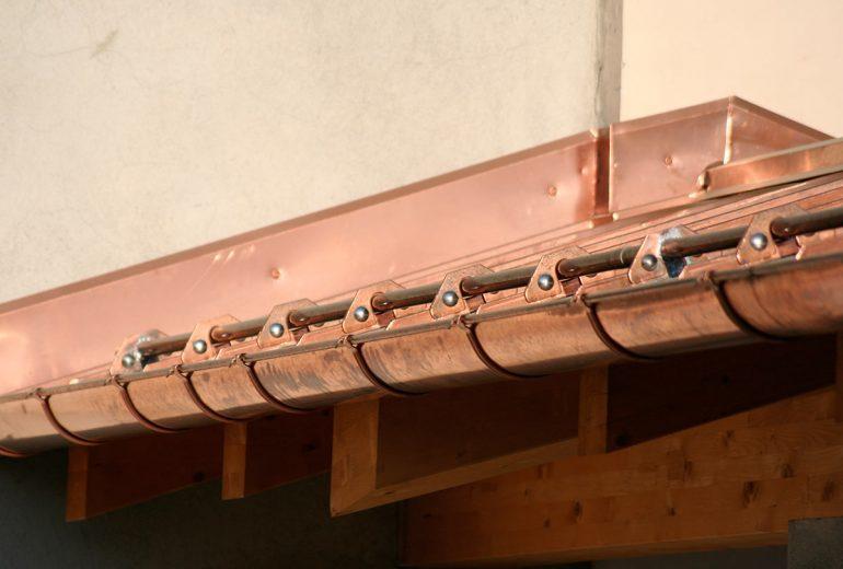 Couverture en cuivre