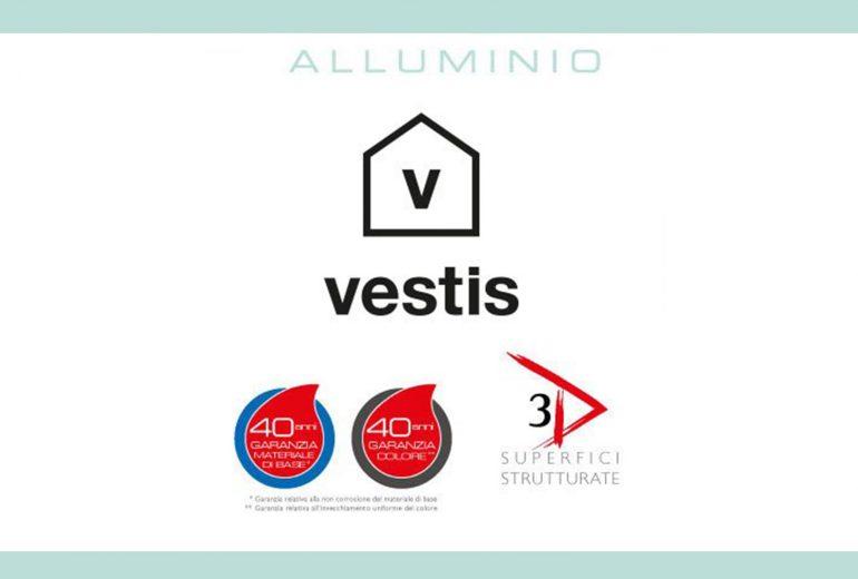 Nuova colorazione per Alluminio Vestis