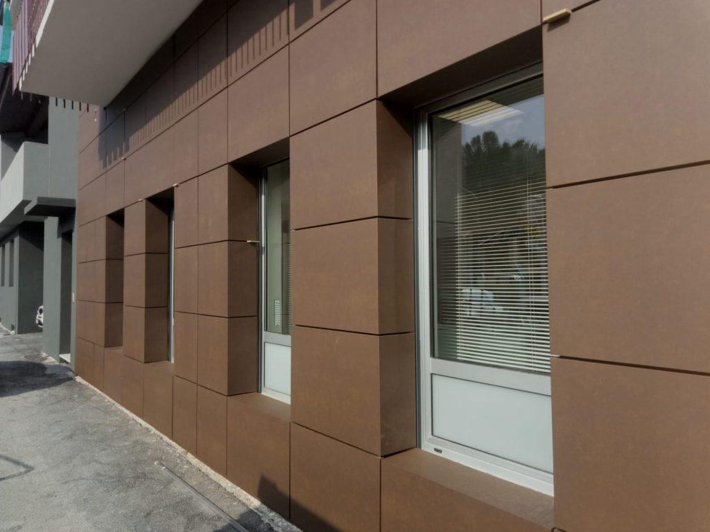 Doghe di facciata Salumificio Marchisio – Pianfei (CN) - OML