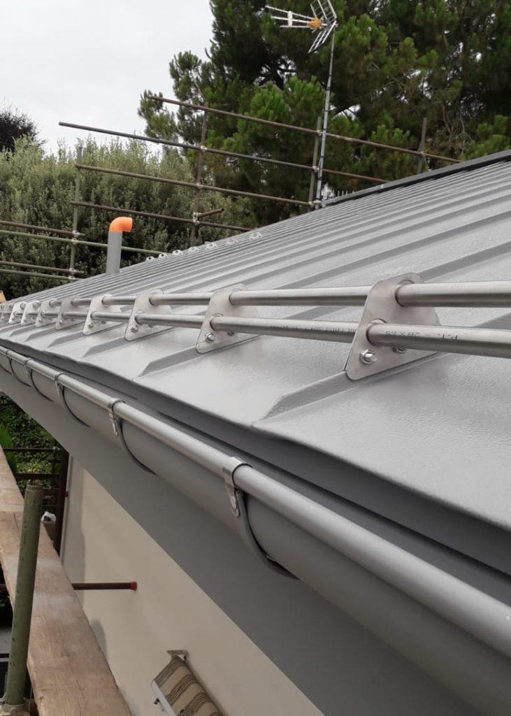 Copertura doppia aggraffatura alluminio – Villanova Mondovì (CN) - OML