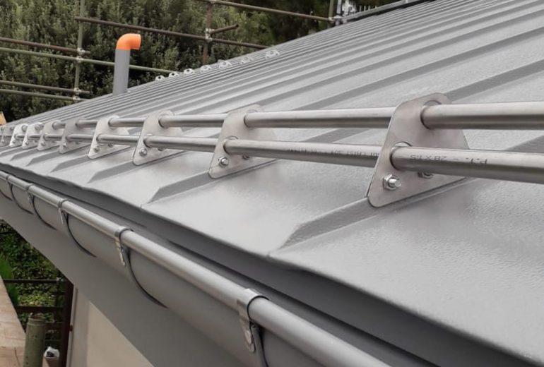 Copertura doppia aggraffatura alluminio – Villanova Mondovì (CN)