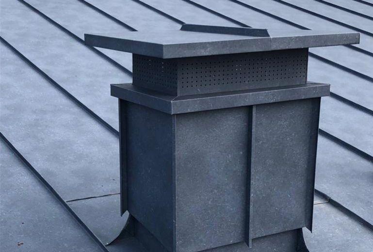 Copertura doppia aggraffatura alluminio – Busca (CN)