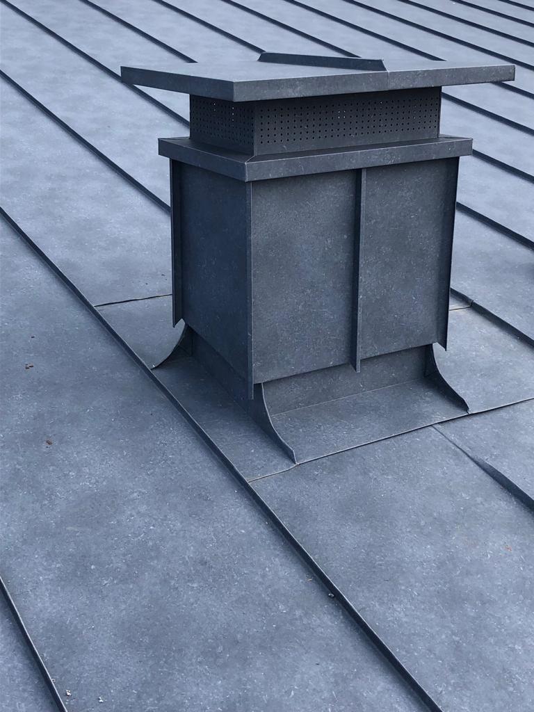 Copertura doppia aggraffatura alluminio – Busca (CN) - OML
