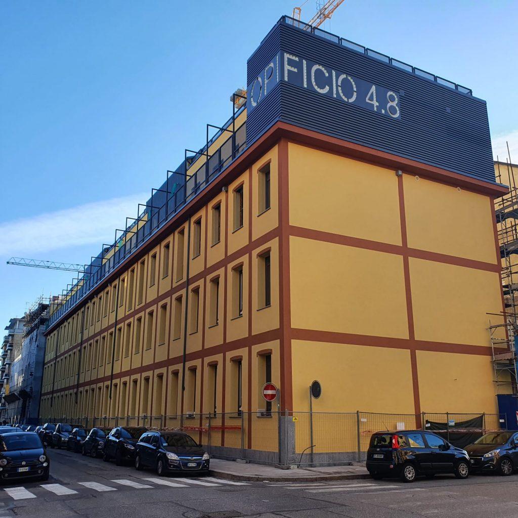 Rivestimento di facciata – Torino - OML